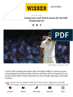 Australia's Reverse Swing Woes and Why They Matter _ CricViz