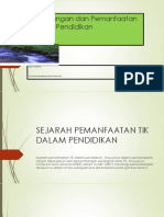 Perkembangan Dan Pemanfaatan TIK Dalam Pendidikan