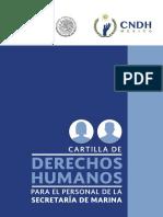 Cartilla de Derechos Humanos Para El Personal de La Secretaría de Marina