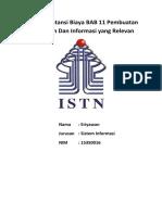 Tugas Word Akuntansi BAB 11. Eriyawan SI 15350016 Print