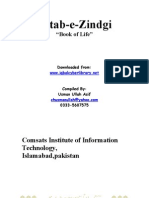 Kitab-E-Zindigi (Book of Life) by Maulana Waheed-Ud-din