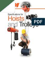 Hoist and Trolley Full Catalog