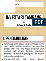 INVESTASI TAMBANG 1