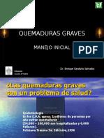 MANEJO INICIAL DE QUEMADURAS.PRESENTACION.ppt
