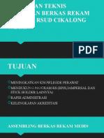 Bimbingan Teknis Pengisian Berkas Rekam Medis Di Rsud