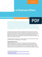 The future of business ethics