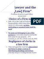 23. the Lawyer and the Law Firm 2018