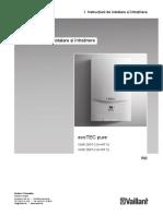 473 366 Manual de Instalare EcoTEC PURE
