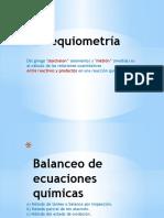 UNIDAD 2 - 1.1 Balanceo de Ecuaciones
