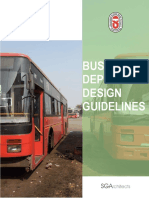Bus Depot Design Guidelines