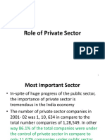 Unit 1.1.3 Role of Private Sector