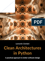 Clean Architectures in Python