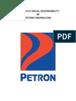 CSR Petron