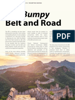 The Bumpy Belt and Road