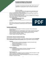 BR Research _Internship Advert