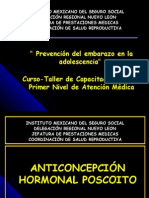POST- DAY Prevencion de l Embarazo en Adolescencia