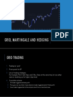 Grid, Martingale and Hedging
