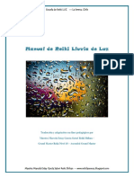 Manual Maestria Reiki Lluvia de Luz