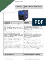 Pegas 200 Ac Dc Servisni Manual Service Manual Mg121 4.5nz3f