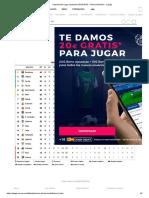 Clasificación Liga Santander 2018-2019 - Primera División - LaLiga