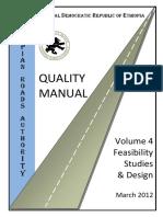 Quality Manual Vol 4 Feasibility Design Rev Mar12.docx