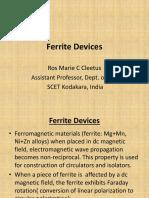 Ferrite Devices