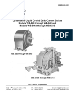 Liquid Cooled Eddy Current Brakes