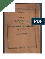 Jean Gaudemet - L'Église Dans l'Empire Romain (1958)