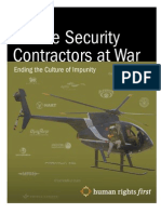 Private Security Contractors at War