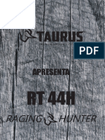 Lançamento RT44H Compressed Taurus
