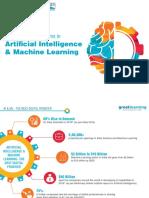GreatLearning AI and ML brochure