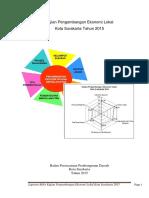 Laporan Kajian Pengembangan Ekonomi Lokal Tahun 2015