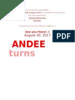Andee 5th Invi