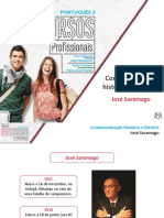 Contextualização Histórica e Literária - José Saramago