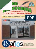 REVISTA PLUMA RAIMONDINA 2018 - Edicion Final Para Impresion