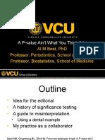 p Values
