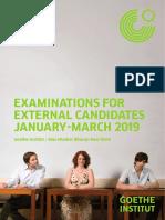 german exam dates