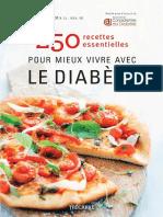 250 recettes pour mieux vivre avec le diabète.pdf