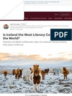 Is Iceland the Most Literary Country in the World – Electric Literature