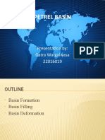 Evaluation of Petrel Basin