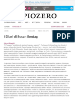 I Diari Di Susan Sontag Doppiozero