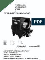 Manuale Uso e Manutenzione Generatore