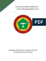 Proposal Kegiatan Seminar Kesehatan(1)