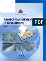 Project Mgmt in Govt 2011