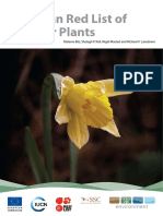 2011 Red List of European Vascular Plants