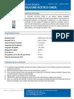 Tds Ficha Tecnica Silicone Acetico Cinza 280 Rev 06 17