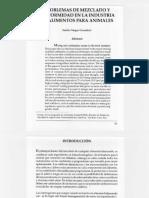 Problemas de Mezclado y Uniformidad en La Industria de Alimentos Para Animales (1)