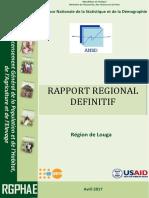 RGPHAE Rapport-regional LOUGA Vf