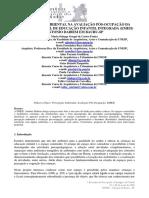 A PERCEPÇÃO AMBIENTAL NA AVALIAÇÃO PÓS-OCUPAÇÃO DA ESCOLA MUNICIPAL DE EDUCAÇÃO INFANTIL INTEGRADA (EMEII) ANTONIO DAIBEM EM BAURU-SP