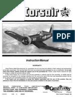 Manual Corsario 40 aeromodelismpo